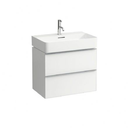 810284 - Laufen Val 650mm x 420mm Washbasin & Space Vanity Unit - 8.1028.4